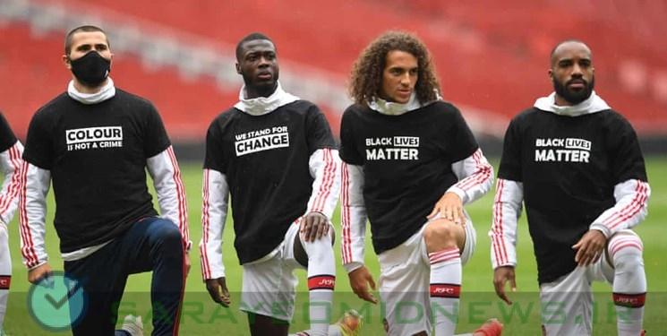 فوتبال علیه نژادپرستی آمریکا